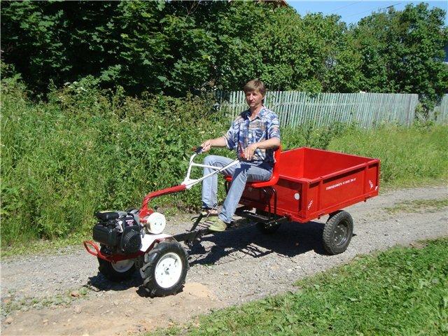 Продаю трактор и телегу (на ходу) – купить в Волоколамске.